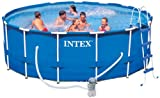 Intex Aufstellpool Frame Pool Set Rondo, TÜV/GS, Blau,...