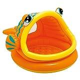 Intex Babypool Lazy Fish Shade Baby Pool, Mehrfarbig,...