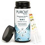 Purovi® Pooltester | Wassertest Streifen für Pool...