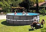 Intex Ultra Rondo Frame Pool Set, 19156 liters, Grau,...