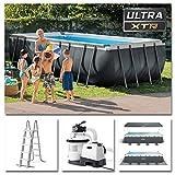 Intex Schwimmbadrahmen-Set Ultra Quadra, 549 x 274 x...