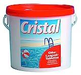 Cristal CHLORTABLETTEN Chlor-Langzeit-Tabletten 1136182...